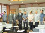 20201103_ツーリズムEXPO 関係者らが知事に報告 沖縄ニュースネット-1