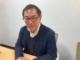 下地島エアポートマネジメントの伴野賢太郎社長