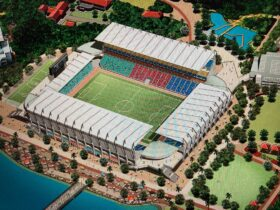 沖縄県資料に掲載された新スタジアムイメージ