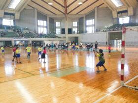 沖縄市長杯争奪-第18回中頭地区小学生ハンドボール大会